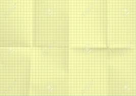 Graph Paper Yellow Texture Background