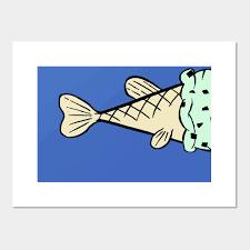 Fish Cream Cone