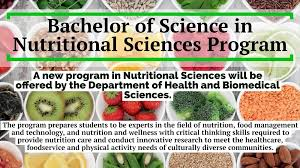 Utrgv Bachelor Of Science In Nutritional Sciences Program Bsns