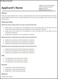 Importance Of A Resume 2007 Word Resume Template Importance Of A