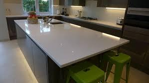 White Granite Kitchen Worktops Kitchen Worktops Style Within