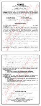 Cover Letter Consulting Resume Example Sales Consulting Resume