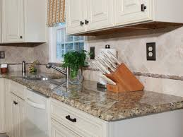 Kitchen Countertop Tile How To Install A Granite Kitchen Countertop How Tos Diy