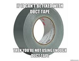 love duct tape. Duct Tape Love V