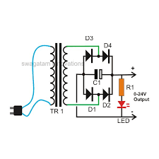 ac dc transformer schematic wiring diagrams best how to build a homemade 24 volt ac to dc 20 amp transformer old ac to dc converter schematic ac dc transformer schematic