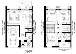 modern row home plans house