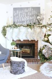 56 mantel decorations ideas for holiday fireplace mantel decorating