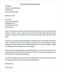 Agreement Form Doc Unique Business Contract Termination Letter Template For Doc Netdevilzco