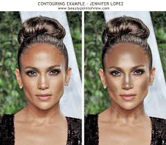 contouring to enhance the features