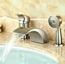 tub faucet handheld shower bathtub faucet with hand shower 3 roman tub faucet with hand shower