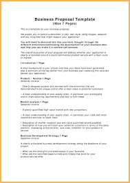 Proposal Samples Template Proposal Sample Template 24