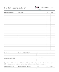 Food Requisition Form Template Sharpbit Me