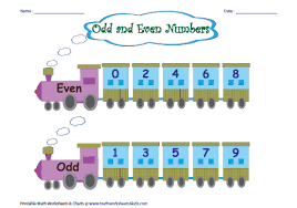 Odd And Even Numbers Chart Odd And Even Lessons Tes Teach