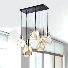 plug in chandelier swag plug in chandelier with crystals and large white shade