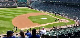 Wrigley Field Covered Seating Chart Wrigley Field Section 307l Home Of Chicago Cubs