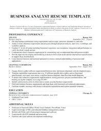 Business Analyst Cv 29 Resume Objective Skills Sample Uk Capture