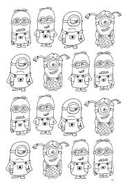 Star Wars Minions Coloring Pages Fresh Print Minions 16 Kleurplaat