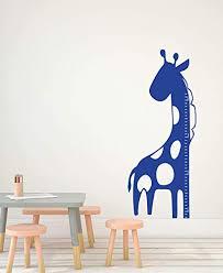 Amazon Com Giraffe Height Chart For Kids Jungle Themed