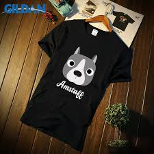Funny Casual <b>Tshirt</b> For Men Anti Wrinkle <b>Amstaff American</b> ...