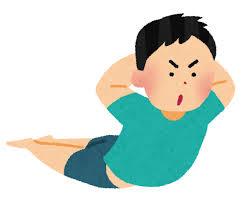 「腹筋と背筋の筋力 イラスト」の画像検索結果
