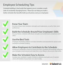 How To Make Schedules For Employees Employee Scheduling Tips 10 Tips To Help You Build A