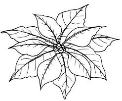 Open any of the printable files above by clicking the image or the link below the image. Leaves Of Poinsettia Coloring Page Flower Coloring Pages Coloring Pages Christmas Coloring Pages