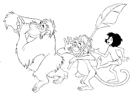 Small Picture Jungle Book Coloring Pages Disney Coloring Pages Pinterest