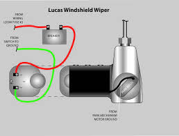 lucas wiper wiring diagram wiring diagram and schematic windshield wiper motor electrical instruments by lotuselan