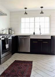 Kitchens With Dark Cabinets And Tile Floors Black Flooring Ideas For