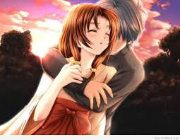 loving couple gif animated romantic anime couple hug 3d wallpapers collection pack