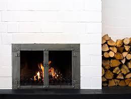 more efficient burning glass doors
