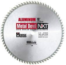 10 metal cutting blade. mk morse csm1072nac metal devil circular saw blade, aluminum application, 10-inch diameter, 72 tpi, 5/8-inch arbor - amazon.com 10 cutting blade