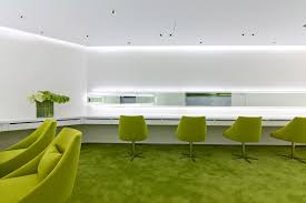 green office interior. Beige Design Have Completed An Interior For A Neo Derm Medical Aesthetic Center In Hong Kong. Green Office E