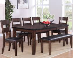 maldives 5 piece dinette table and 4 chairs 699 00 table 459 00 42 x 60 78 x 30 h with 18 leaf chair 99 00 19 x 19 x 40 3 h bench 139 00 51
