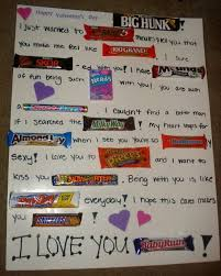 Happy Birthday Candy Bar Card New Candy Bar Poster Ideas With Clever
