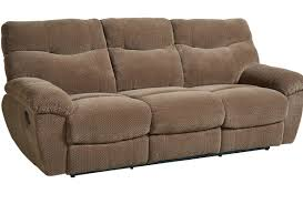 Neponset Taupe Brown Manual Motion Reclining Sofa
