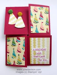 Quarter Cards Julies Stamping Spot Stampin Up Project Ideas Posted