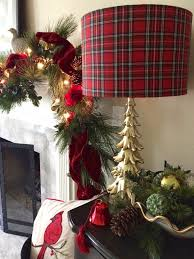 Plaid Christmas Tree Decking The Halls On A Budget Affordable Christmas Decor Woody
