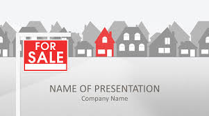 Powerpoint Real Estate Templates Real Estate Powerpoint Template Templateswise Com