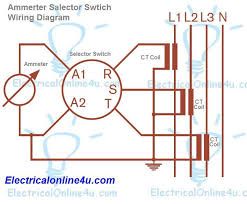 rotary switch wiring diagram ge cr115e schematic and wiring diagrams a complete guide of ammeter selector switch wiring diagram electric trailer jack rotary switch