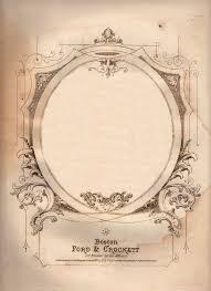 Wine Border Template Amazing Antique Sheet Music Graphic Ephemera The Graphics Fairy