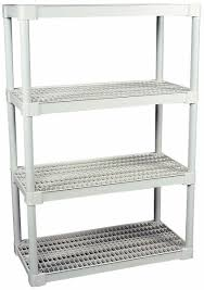 attractive rubbermaid plastic shelving 4 shelf ventilated structural open 89513477 m c hover to zoom container storage cabinet step stool shed food