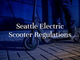 seattle electric scooters laws what