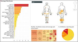 Injury Location Chart Body Map Thinking Spatial Non Geographic Representations In Spotfire
