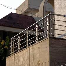 <b>SS 304 Balcony</b> Railing at Rs 300/feet | <b>Stainless Steel Balcony</b> ...