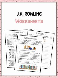 J.K. Rowling Facts, Information & Worksheets For Kids
