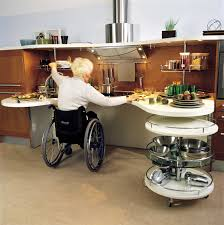 handicap kitchen design. simple, sleek kitchen design for wheelchair users. handicap i