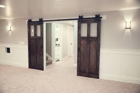 commercial interior sliding glass doors glass barn door for bathroom barn doors with glass inserts interior barn doors for barn door home depot