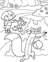 Dora Kleurplaat Ballonnen