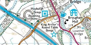 king arthur s round table referred to locally by this name for hundreds of years a large earth mound near penrith at eamont bridge